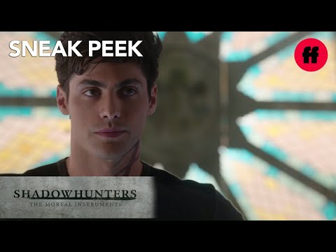 Shadowhunters | Season 1, Episode 12 Sneak Peek: Alec, Lydia, & Magnus | Freeform