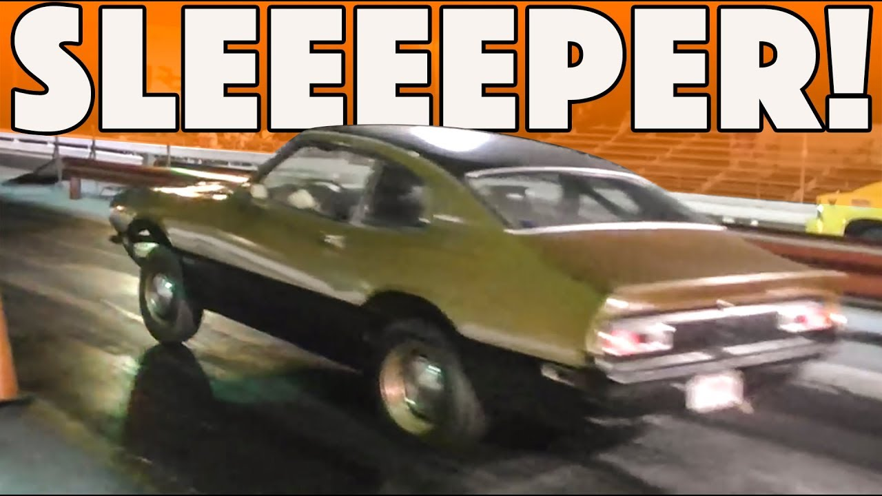 Turbo Maverick Sleeper Outruns Drag Car - YouTube