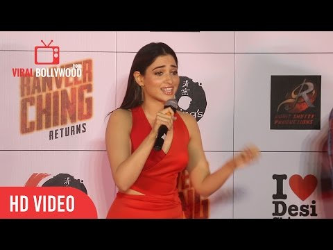 Tamannaah Bhatia Full Speech | Ranveer Ching Returns launch