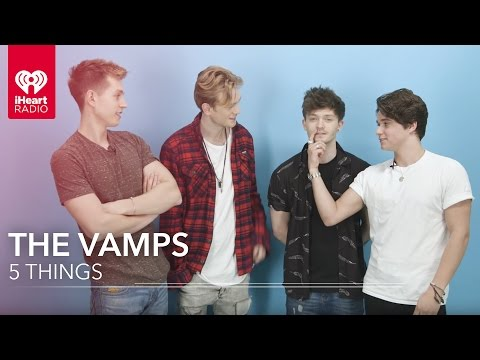 The Vamps Interview - Five Things