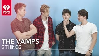 If you're new, Subscribe! ▻ http://bit.ly/1Jy0DbO The Vamps tell us...