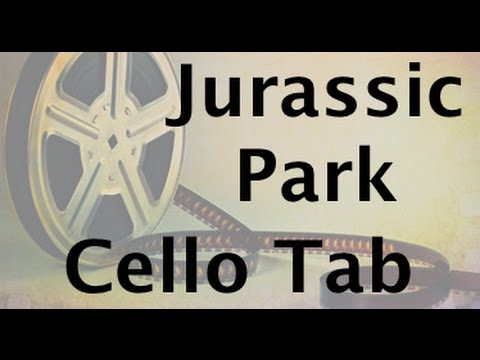 Learn Jurassic Park on Cello - How to Play Tutorial