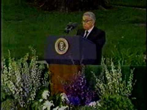 Richard Nixon Funeral (3): Henry Kissinger's Eulogy