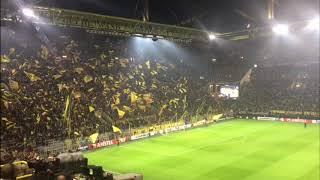 Borussia Dortmund-Atalanta, lo spettacolo sugli spalti
