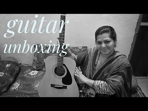 Guitar unboxing from Amazon in. ll guitar review/from Amazon ll company Yamaha ll2019🤗🌸