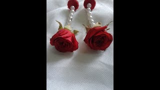 how to make real flower jewelry for mehndi and other fucntions new 2017