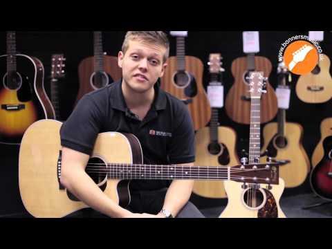 Martin 2015 Performing Artist Series And Road Series Acoustic Guitar Demo