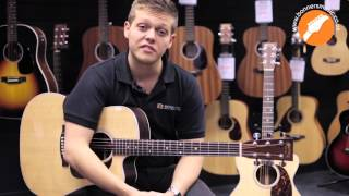 Martin 2015 Performing Artist Series And Road Series Acoustic Guitar Demo