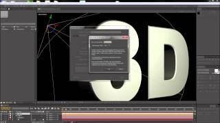 After Effects Tutorial: 3D Render Quality Settings -HD-