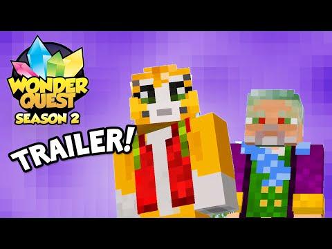 Wonder Quest – Season 2 Trailer – STAMPY'S MINECRAFT SHOW IS BACK | Stampylonghead (Stampy Cat)