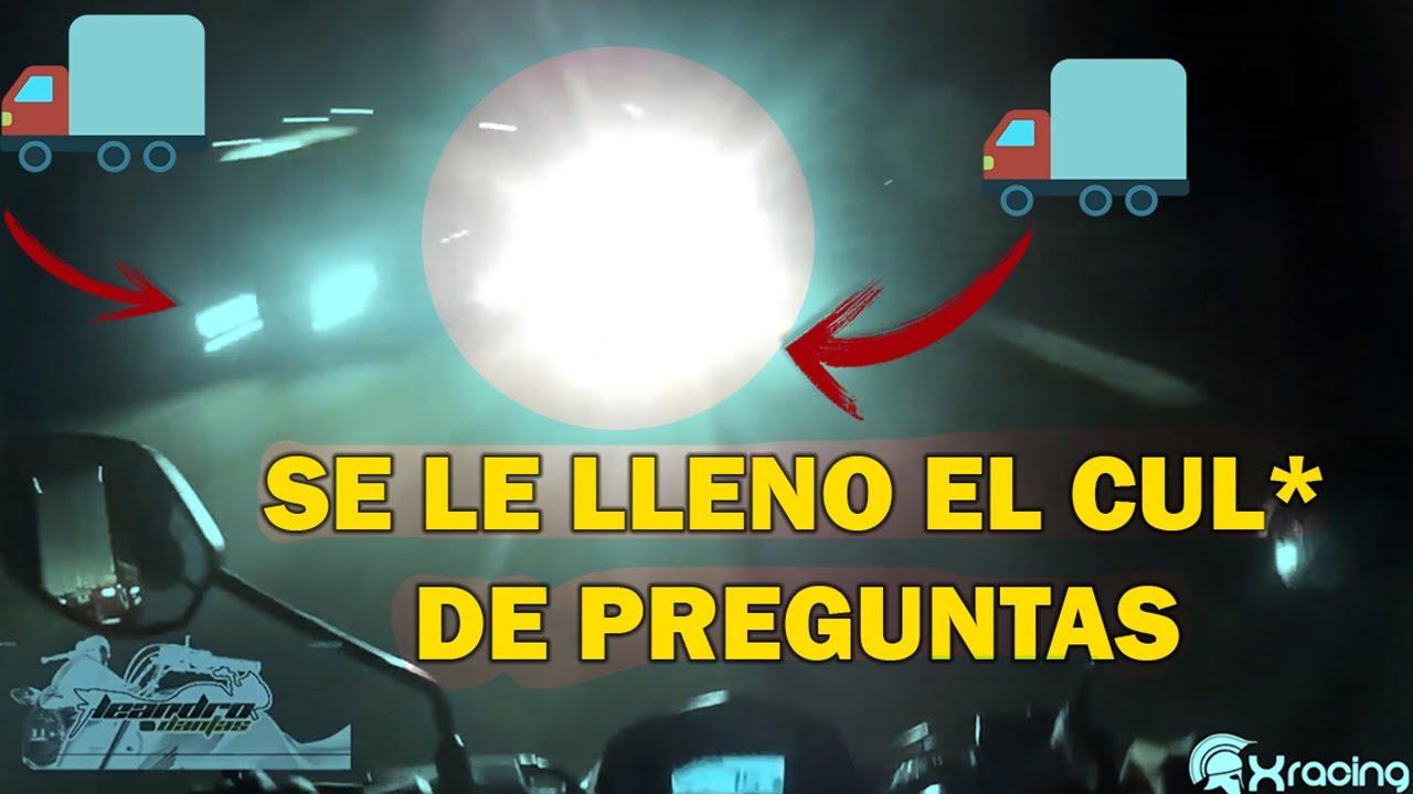 SE LE LLENO EL CUL* DE PREGUNTAS | SUSTOS DE MOTOS | LA SERIE #20