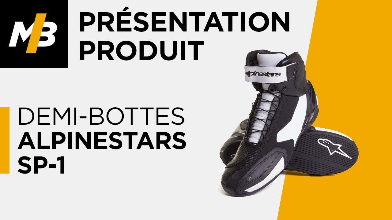 49c909e6b Demi-bottes Alpinestars SP-1, avis en vidéo par Motoblouz