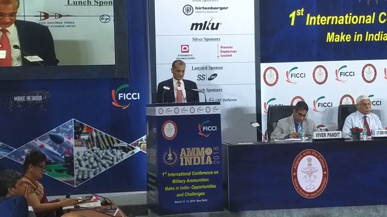 AMMO INDIA 2018 :International Conference on Military