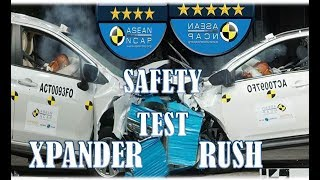 2018 Rush Vs Xpander Safety Test in Philippines
