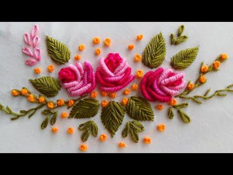 Hand Embroidery: Brazilian EmbroideryBullion knot