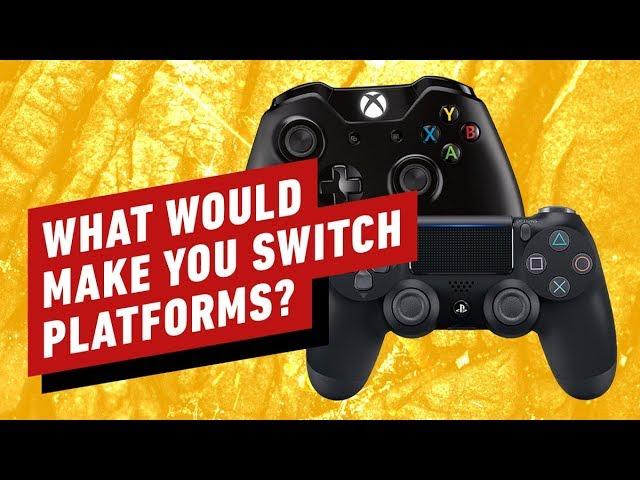 O que seria necessário para você sair do PlayStation / Xbox Next Gen? + vídeo