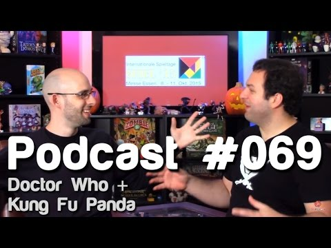 Doctor Who + Kung Fu Panda   Roll For Crit Podcast #069