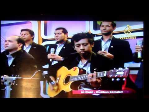 Nasyid Rasuah 'Rintihan Semalam' Live di TV Al-Hijrah - Coy