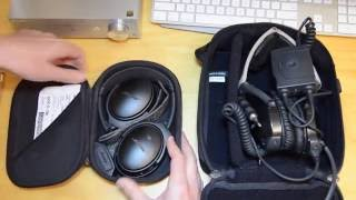 Bose QC35 Bluetooth Noise Cancelling Headphones real-world Review (inc Aviation X comparison)