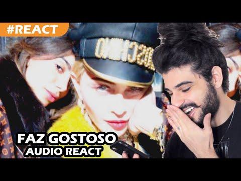 Madonna - Faz Gostoso feat Anitta REACT