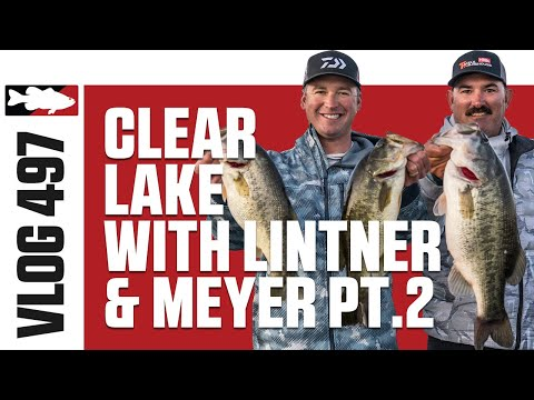 Jared Lintner And Cody Meyer Fishing Lipless Crankbaits On Clearlake - Tackle Warehouse VLOG #497