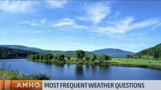 Most Common Weather Questions