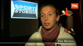 video uit Sportstories met Elise Mertens