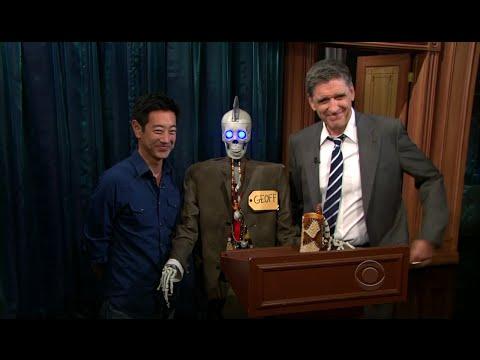 Late Late Show with Craig Ferguson 7/26/2011 William H  Macy, Karen Gillan