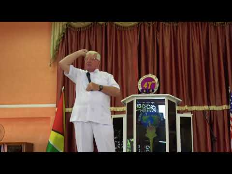 A New Start by Apostel Bishop Dr. Bert Elferink in Guyana (E