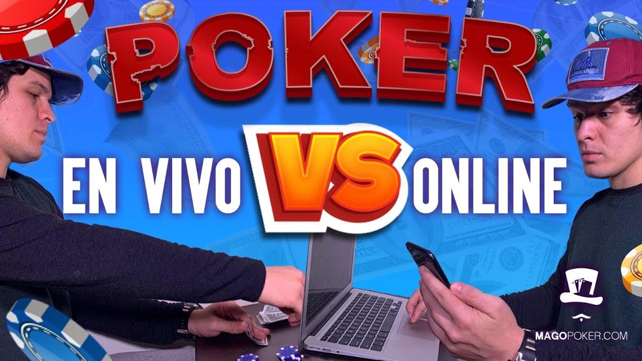 Diferencias Entre Online Poker Vs Poker Vivo Youtube