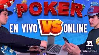 Diferencias entre Online Poker vs Poker Vivo