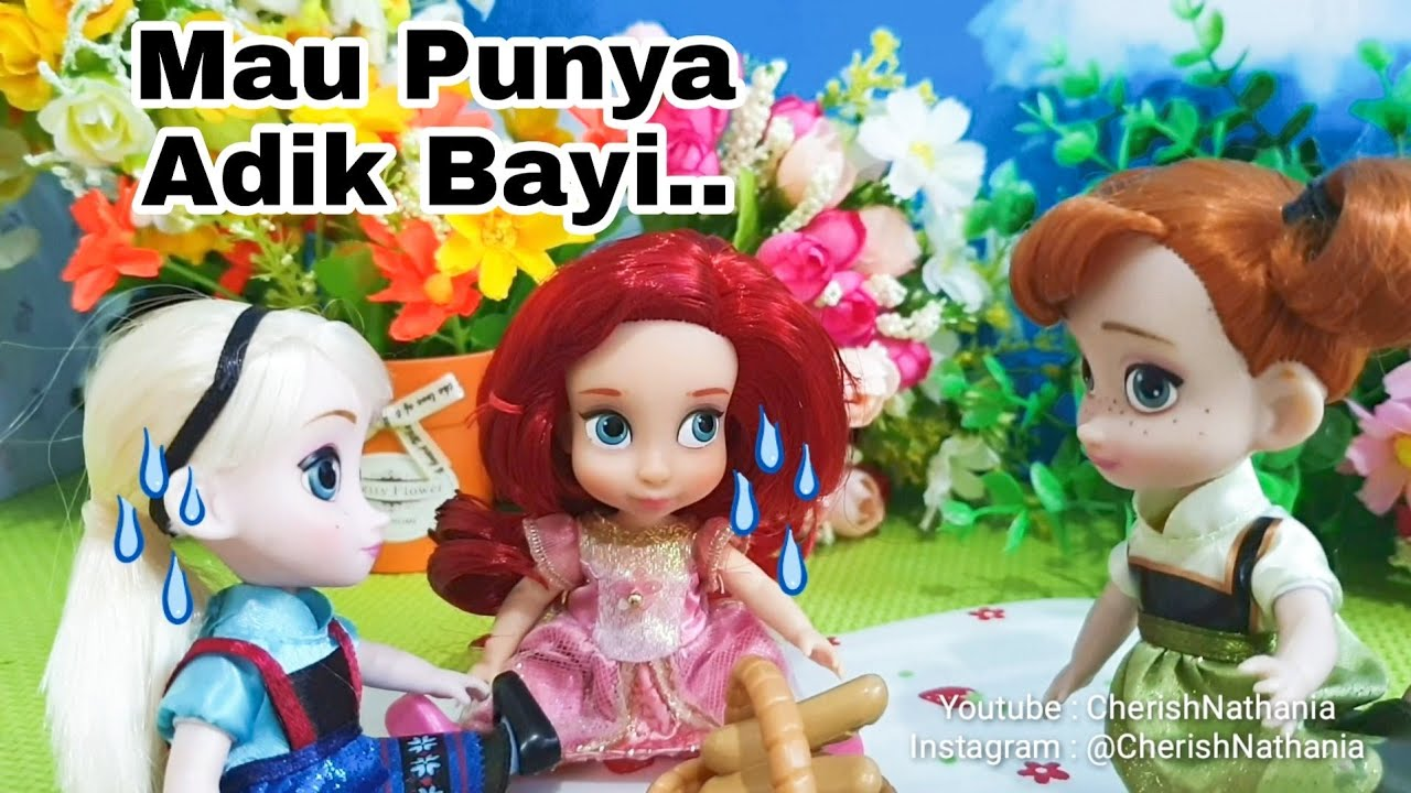 Barbie Ariel Duyung Cantik Hamil Video Drama Dongeng Anak Boneka Barbie Bahasa Indonesia