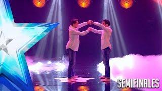 ¡Como dos gotas de agua! Impresionantes 'Impact Brothers' | Semifinales 3 | Got Talent España 2017