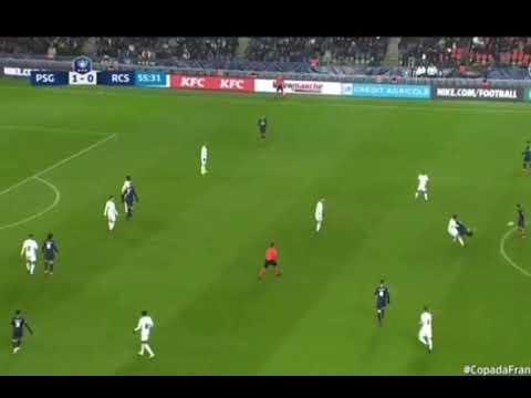 PSG 2 x 0 Strasbourg Neymar sofre nova contusão e dá drible fantástico em marcador