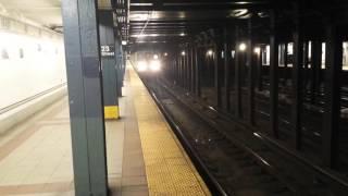BMT Broadway Line: Queens & Brooklyn Bound R160 & R46 N, Q & R Trains @ 23rd Street