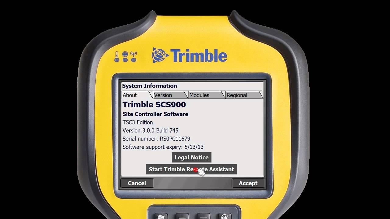 Trimble TSC3 | SоliTech