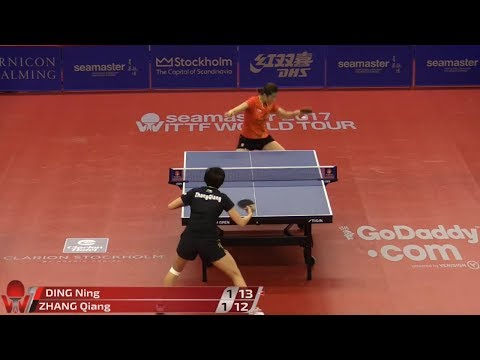 2017 Swedish Open (WS-QF) DING Ning Vs ZHANG Qiang [Full Match/720p]