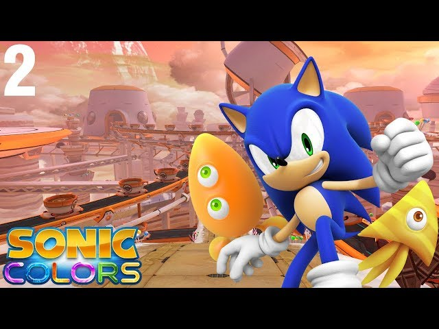 Sonic Colors (Wii) [4K] - Story Playthrough (2/7) - Sweet Mountain