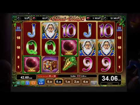 Book Of Magic Bonus Speciala MaxBet Casino Pacanele | Slots