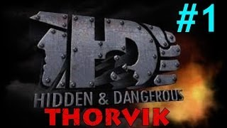 "Custom Zombies - Thorvik | Based on the Game ""Hidden and Dangerous"" (Part 1)"