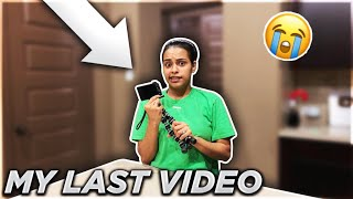 MY LAST VIDEO...... SAYING MY LAST WORDS **MUST WATCH**