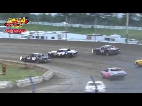 Jamestown Speedway Bomber A-Main (8/10/19)