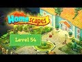 Homescapes Level 54 - How to complete Level 54 on Homescapes