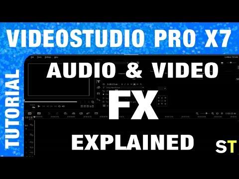 Understanding Video and Audio FX in VideoStudio