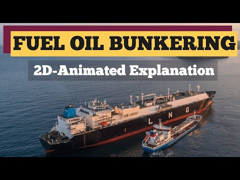 Fuel Oil Bunkering Explained- 2D Animation | Garish Jerome | HIMT