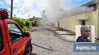 Incendie à St Pierre : les pompiers à pied-d'œuvre tôt en ce jour de Noël