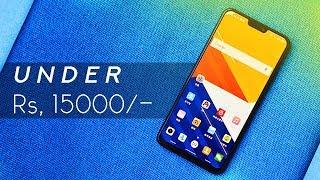 5 BEST Phones With NOTCH Under ₹15000 !