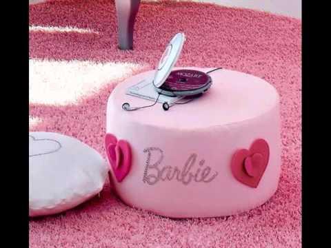 Barbie Bedroom Design Decorating Ideas - YouTube