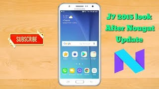 Samsung Galaxy J7 2015 After Nougat UPDATE Review