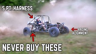 $100 Long Travel Shocks RUINED the Trophy Kart | Jump Testing, Is It Safe?